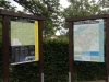 Installation der Wanderkarte Biesfeld